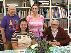Saturday Ceramics Class attendees